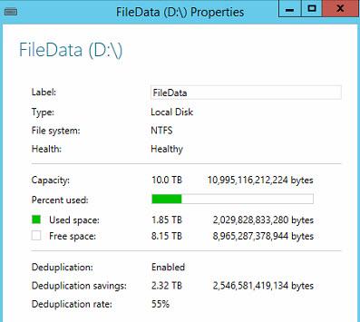 Windows Server 2012 R2 – Dedup-orama – Pragmatic IO